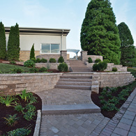 American Beauty Landscape Design Retaining Wall Projects