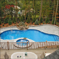 American Beauty Landscape Design Pool Patio Projects
